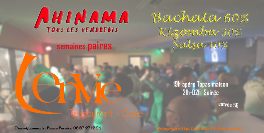 Photo Ahinama l'Envie de bachata